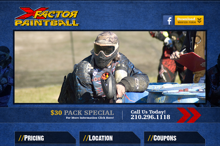 X factor paintball coupons