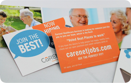 Carenet Healthcare Services Graphic Design San Antonio