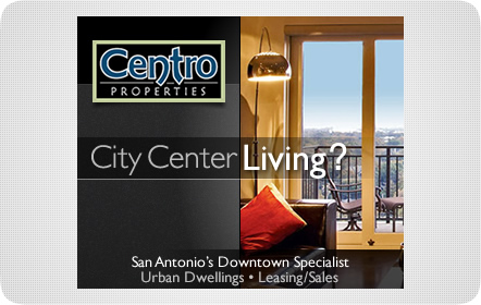 Centro Properties - Banner Ad - San Antonio Website Design & Development