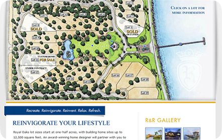 Royal Oaks & Rockport Realty - San Antonio Website Design & Development