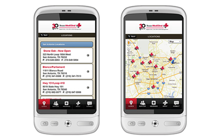 Texas MedCinic - San Antonio Mobile Website Design & Development