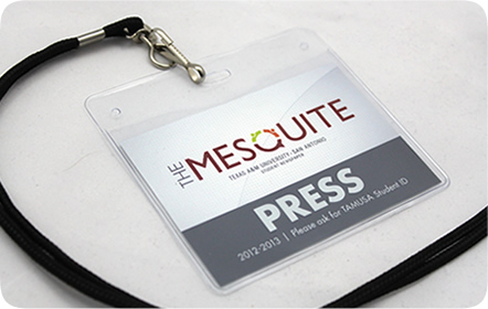 The Mesquite Student Newspaper - Logo & Branding Design - San Antonio