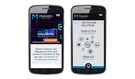Maxon Solutions Mobile Website